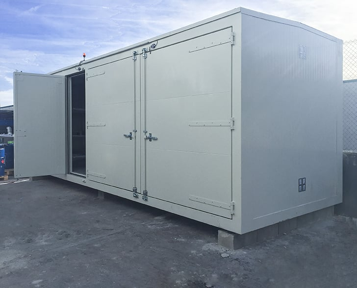 contenedores modulares transitables
