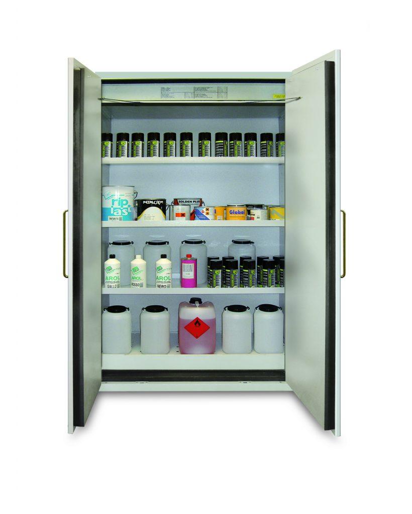 armarios para productos inflamables